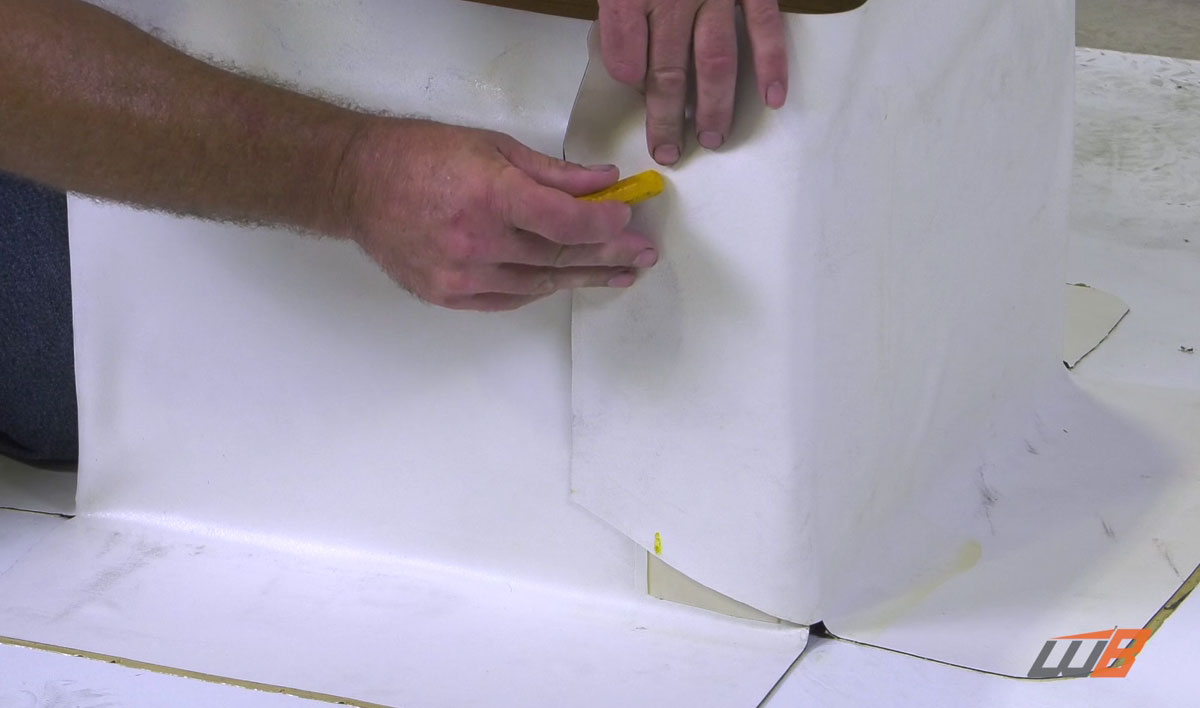 How To Apply Epdm Pressure Sensitive Curb Wrap