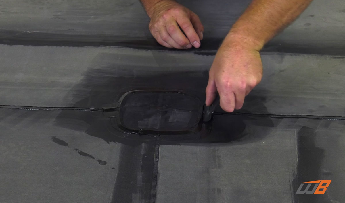 How To Apply Epdm T Joint Cover Weatherbond Roofing